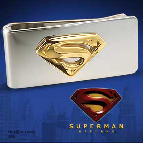 Superman Returns Money Clip
