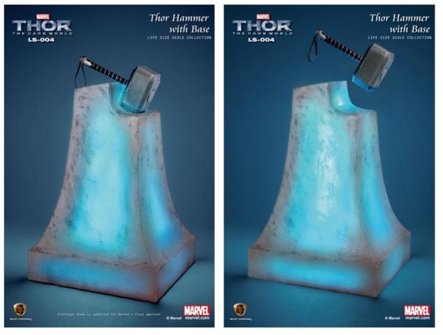 Thor: The Dark World Hammer