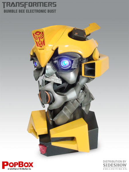 Transformers: Bumblebee Movie Electronic Bust