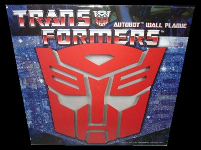 Transformers Autobot Logo Wall Plaque