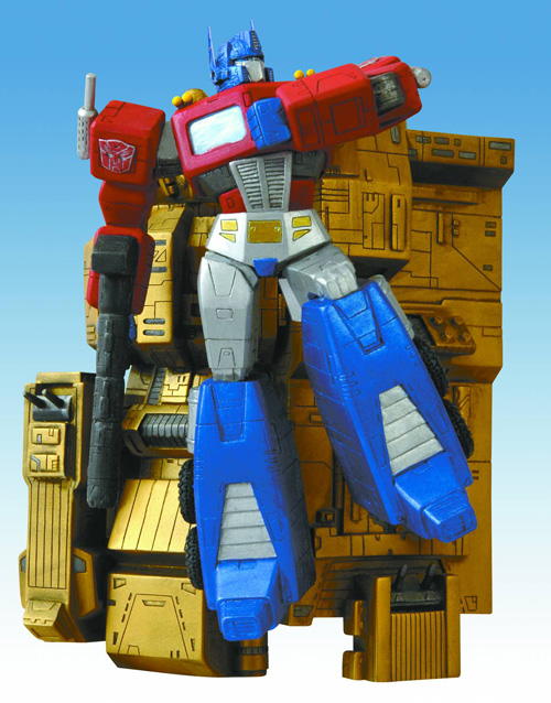 Transformers Optimus Prime Wall Statue
