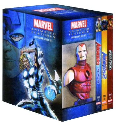 Ultimate Avengers Set (Animated Movie)