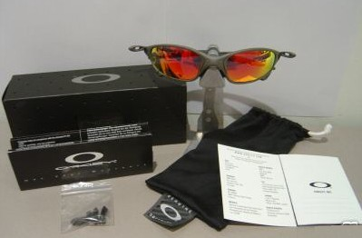 X-Men: X1 Oakley Juliet X-Metal Ruby Iridium