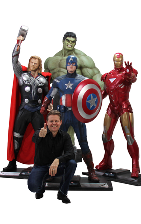 AVENGERS MOVIE SET Life-Size